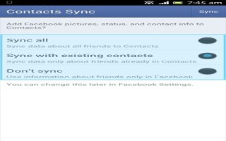 How To Sync With Facebook - Sony Xperia Z Ultra