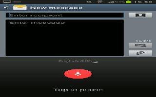 How To Enter Text Using Google Voice Typing - Samsung Galaxy Note 3