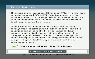 How To Use Group Play  - Samsung Galaxy Note 3