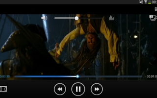 Galaxy Tab 3 Video Player