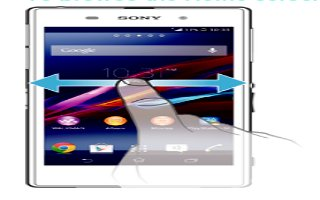 How To Use Home Screen - Sony Xperia Z Ultra