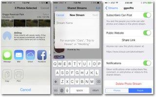 How To Use iCloud Photo Sharing - iPad Mini 2