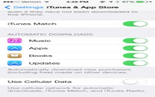 How To Use iTunes Match - iPhone 5C