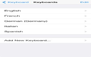 How To Use International Keyboards - iPhone 5C