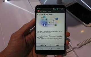 How To Use Life Square - LG G2
