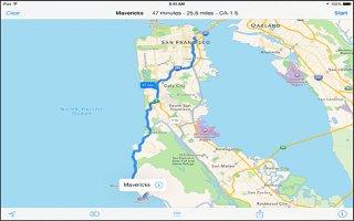 How To Use Maps - iPad Mini 2