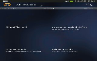 How To Make Online Music Available Offline - Samsung Galaxy Tab 3