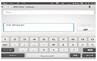 How To Use Messages - Sony Xperia Z1