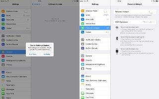 How To Use Personal Hotspot - iPad Mini 2