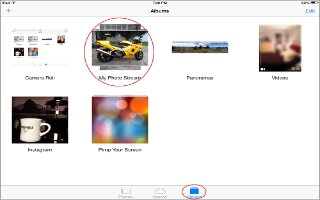 How To Use My Photo Stream App - iPad Mini 2