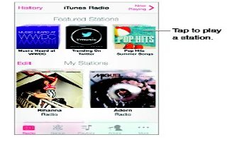 How To Use iTunes Radio - iPhone 5S