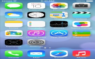 How To Take Screenshot - iPhone 5C