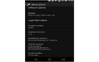 How To Update Software - Sony Xperia Z Ultra - Prime Inspiration