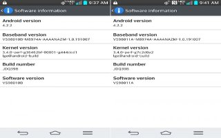 How To Update Software - LG G Pad