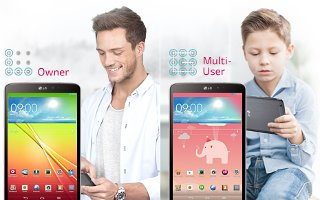 How To Use Multiple User - LG G Pad