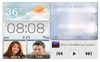 How To Customize Me Widget - Huawei Ascend Mate