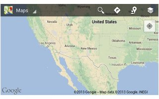 How To Use Google Maps App - Samsung Galaxy Tab 3