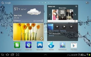 How To Customize Display Settings - Samsung Galaxy Tab 3