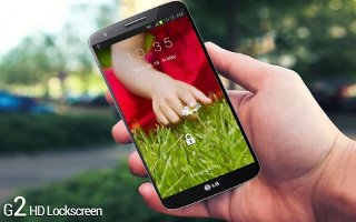 How To Lock Screen - LG G2