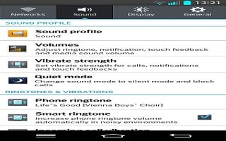 How To Use Sound Settings  - LG G 2