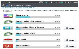 How To Use Battery Saver - LG G2