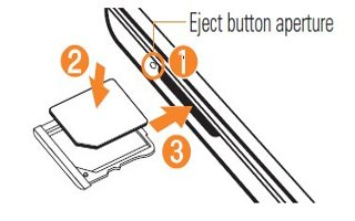 How To Insert Micro SIM Card  - LG G2