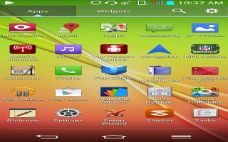 How To Navigate Home Screen - LG G2
