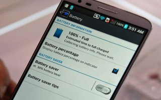 How To Use Battery Saver - LG G Pad