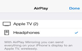 How To Use Airplay App - iPhone 5S