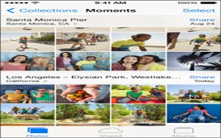 How To Use My Photo Stream App - iPhone 5S