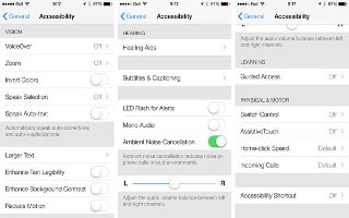 How To Use Ambient Noise Cancellation - iPhone 5S
