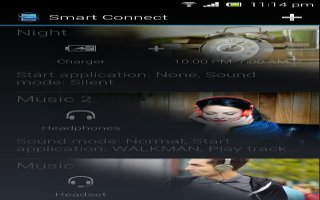 How To Use Smart Connect - Sony Xperia Z1