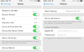 How To Use Music Settings - iPhone 5C