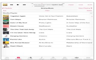 How To Use Playlists In Music App - iPad Air