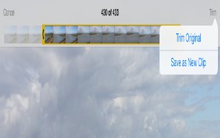 How To Edit Photos And Trim Videos - iPad Air