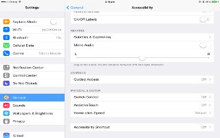 How To Use Assistive Touch - iPad Air