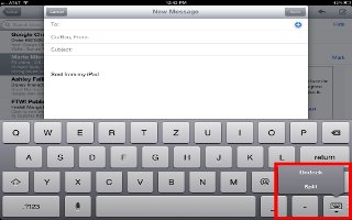 How To Use Onscreen Keyboard - iPad Air