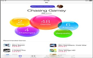 How To Use Game Center App - iPad Air
