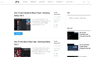 How To Use Browser - Samsung Galaxy Tab 3
