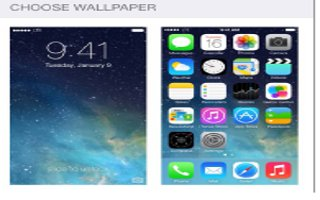 How To Change Wallpaper - iPhone 5C