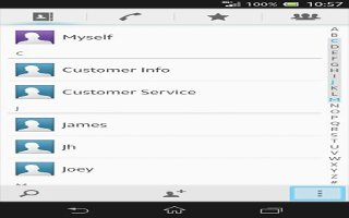 How To Avoid Duplicate Entries In Contacts - Sony Xperia Z1