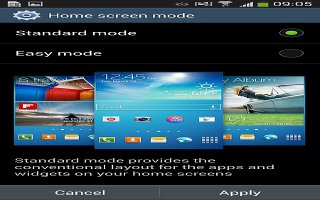 How To Use Easy Mode - Samsung Galaxy S4