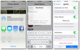 How To Use iCloud Photo Sharing - iPhone 5C