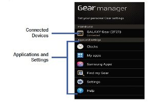 How To Use Gear Manager - Samsung Galaxy Gear