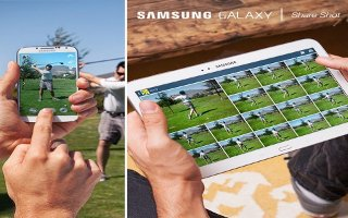 How To Share Photos And Videos In Gallery - Samsung Galaxy Tab 3
