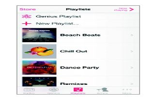 How To Use Playlists In Music App - iPhone 5C