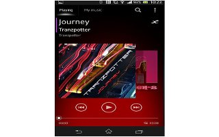 How To Share Music App - Sony Xperia Z Ultra