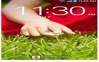 How To Use Screen Lock - LG G2