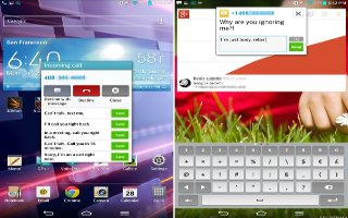 How To Enter Text - LG G Pad