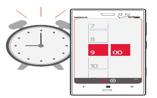 How To Use Alarms - Nokia Lumia 928